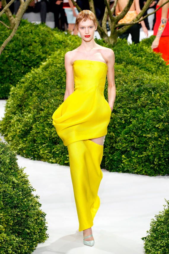 Photo from the Christian Dior Haute Couture Spring/Summer 2013, Paris