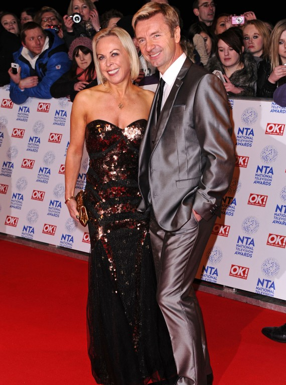 Jane Torvill and Christopher Dean NTAs photo