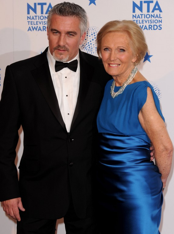 Paul Hollywood and Mary Berry NTAs photo