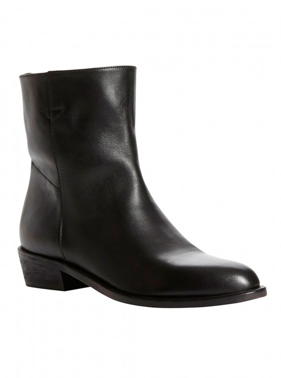 Photo of the Pied A Terre Oman Leather Slip On Ankle Boots