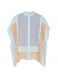 Reiss Pale Blue Layered Shirt