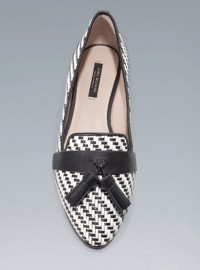 Zara Plaited Loafers