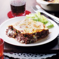Beef and Chianti Lasagne