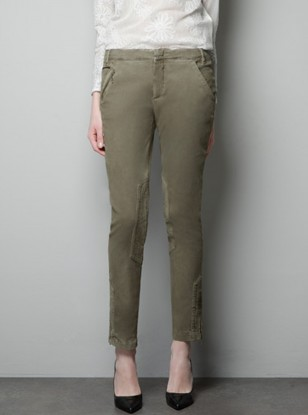 Zara Combination Trousers with Zips