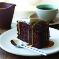 Chocolate Sticky Toffee Pudding Cake