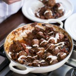 Meatballs and Olives