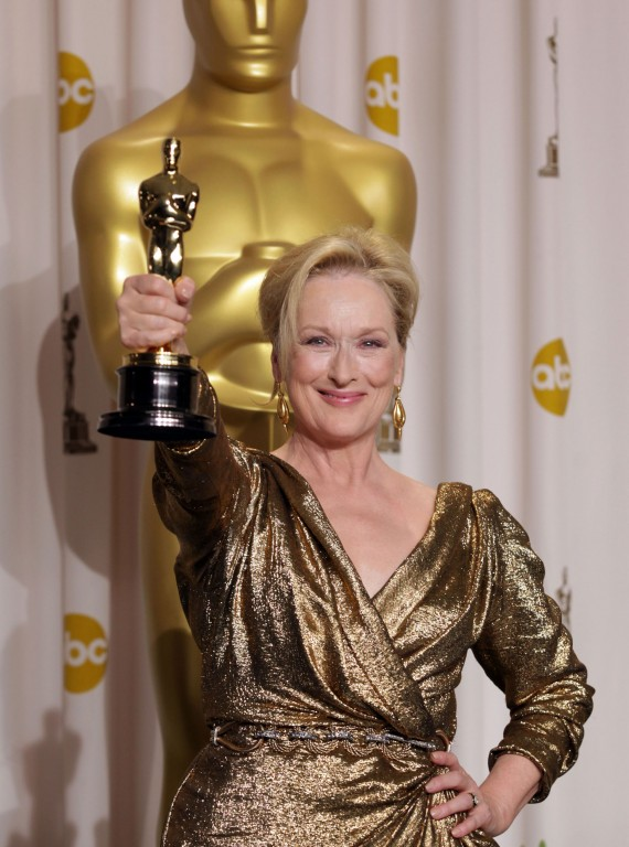 meryl streep oscars iron lady photo