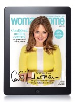 Enjoy the pages of woman&home on your tablet�