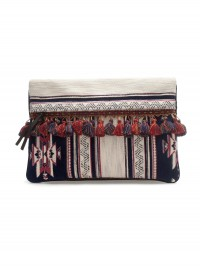 Zara Ethnic Clutch Bag