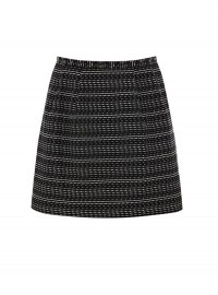 Oasis Stripe Jacquard Skirt