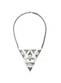 Dorothy Perkins Perspex Triangle Necklace