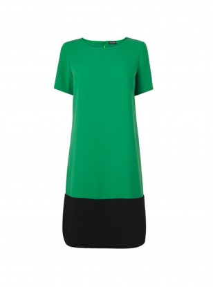 Jaeger Colour Block Dress