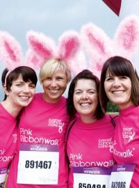 Pink Ribbonwalk 2013 Training Photos