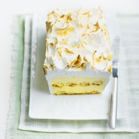 Lemon baked Alaska