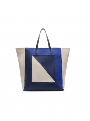 Zara Blue Shopper