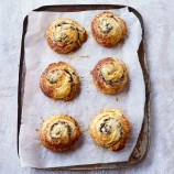 Paul Hollywood's Emmenthal, Onion and Mushroom Pastries