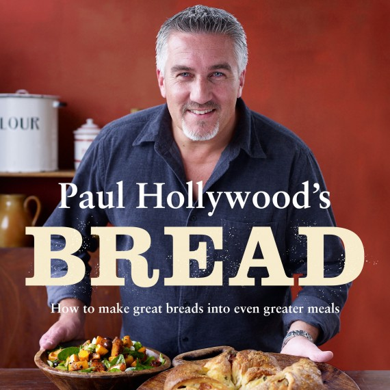 Photo of Paul Hollywood's Bread recipes book jacket