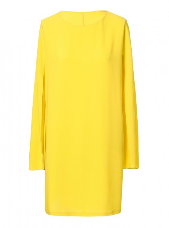 Zara yellow dress photo