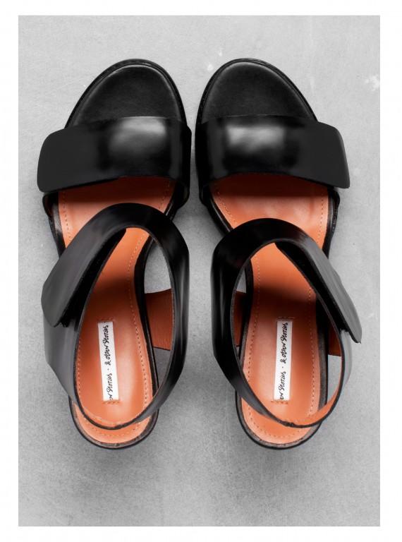 And Other Stories block heel sandals photo