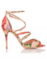 LK Bennett Dahlia Vintage Floral Print Heels