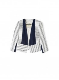 By Malene Birger Etioloa Stripe Cotton Jacket