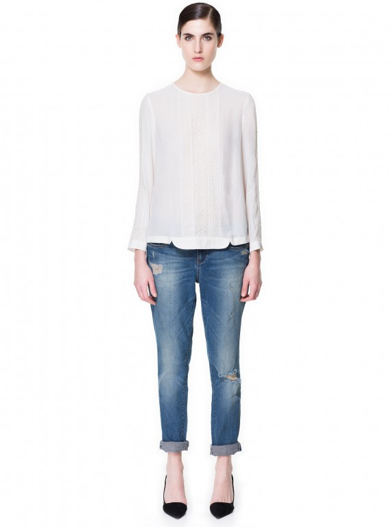 tailoring  Zara Boyfriend Jeans, £2999  Woman And Home
