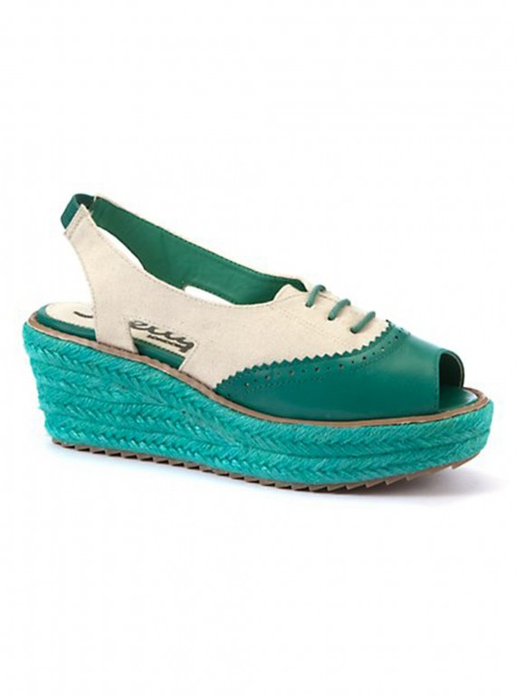 Photo of New Look Shelley Turquoise Slingback Peeptoes, �74.99