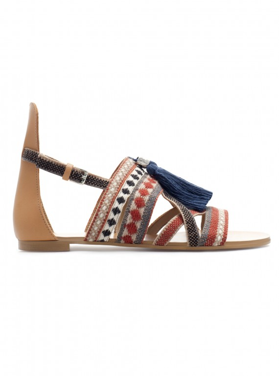 Photo of Zara sandals with tassels, �39.99