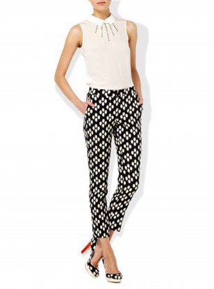 Hobbs Black Victoria Trousers