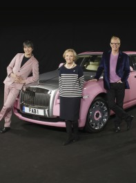 5-4-3-2-1! Become Lady Penelope for the day, thanks to Chris Evans's support of Breast Cancer Care