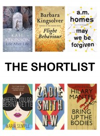 Shortlist Announced for Women's Prize for Fiction 2013