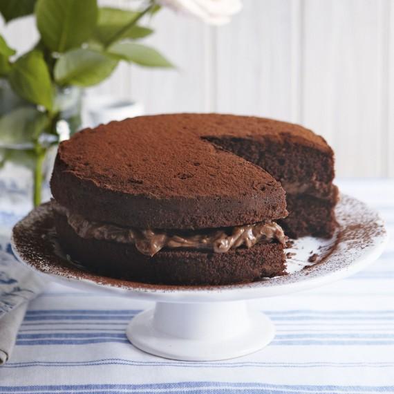 Calories Chocolate Sponge Cake