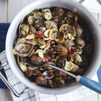 Orecchiette with clams