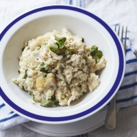 Smoked Haddock and Watercress Risotto