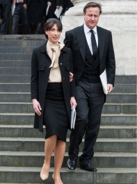 Fashion Etiquette At Baroness Thatcher's Funeral