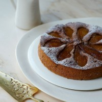 Caramelised Pear and Buckwheat Cake