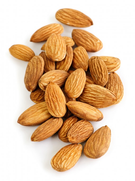 Photo of Beauty foods - almonds