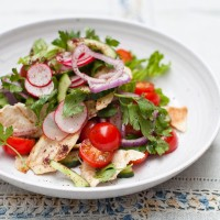 Lebanese Fattoush 