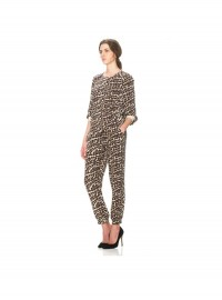 Whistles Safari Leopard Print Trousers