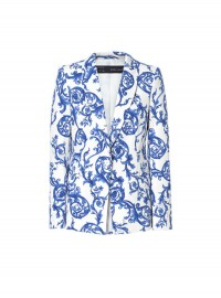 Zara ceramic printed blazer