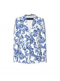 Zara ceramic printed blazer