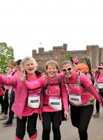 Scone Palace Pink Ribbonwalk 2013