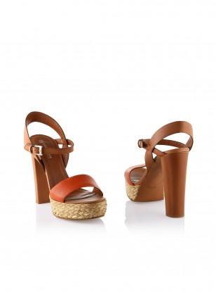 BOSS Orange Railee Strappy Heels
