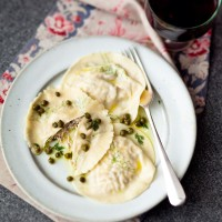 Smoked Mackerel Ravioli