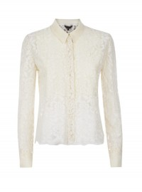 Jigsaw Cream Lace Blouse