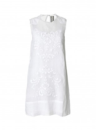 By Malene Birger White Embroidered Dress