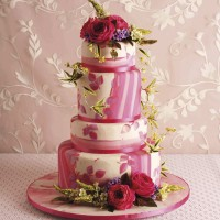 10 Step English Rose Cake Recipe