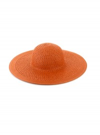 Accessorize Floppy Orange Hat