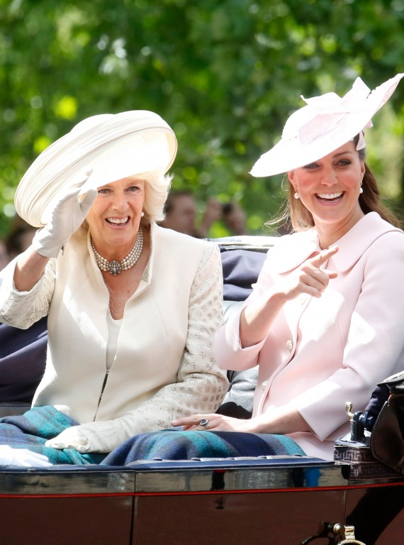 Kate Middleton and Camilla photo