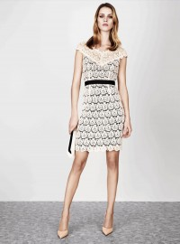 Jaeger Broderie Lace Dress